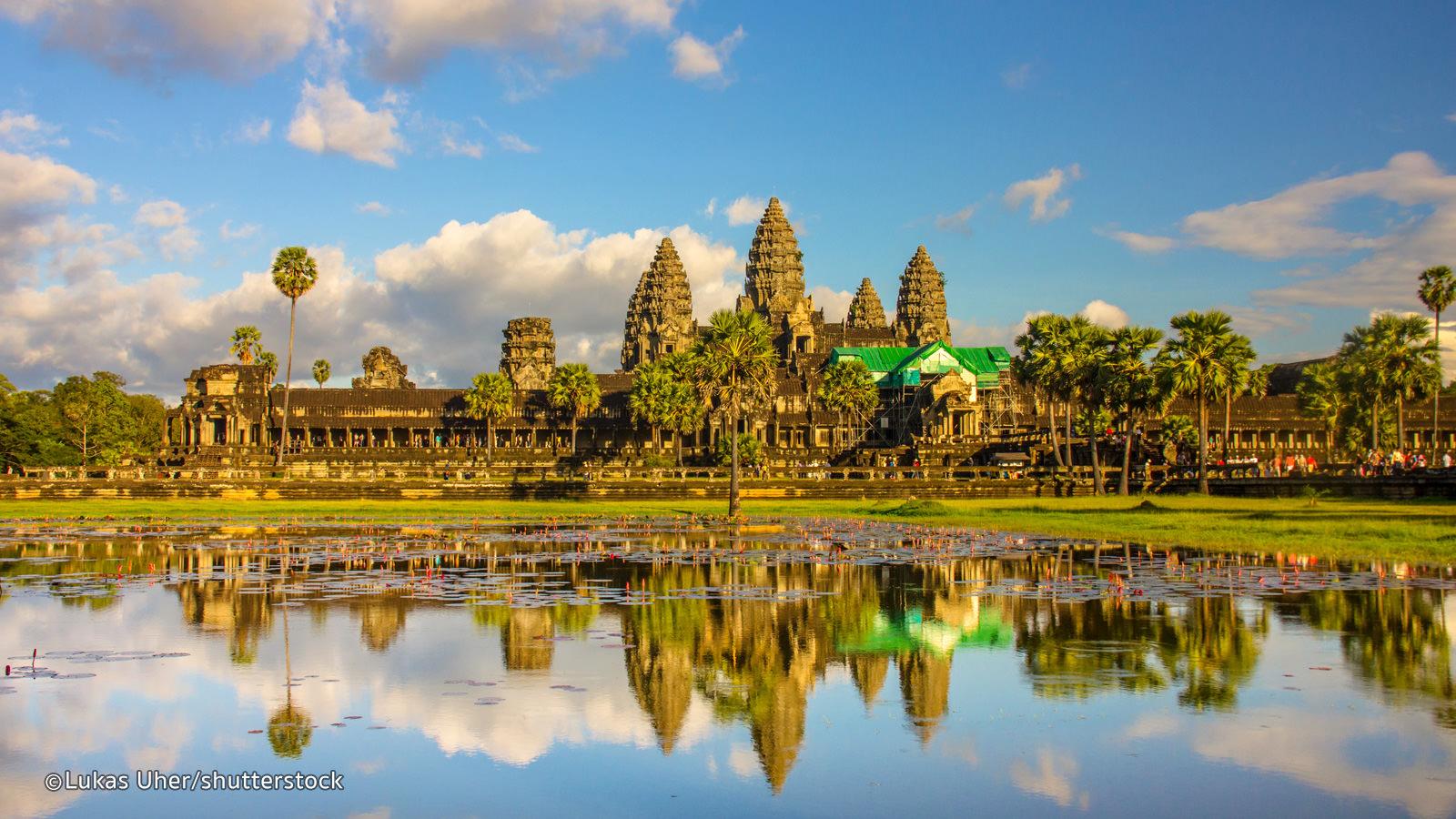 Kemegahan Angkor Watt Di Kamboja
