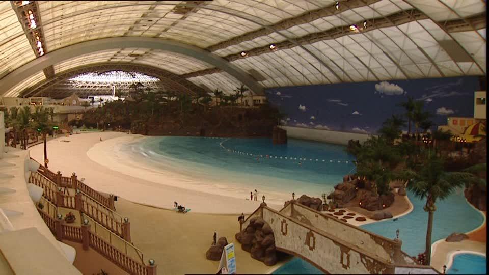 Ocean Dome - Water Park Terbesar Di Jepang