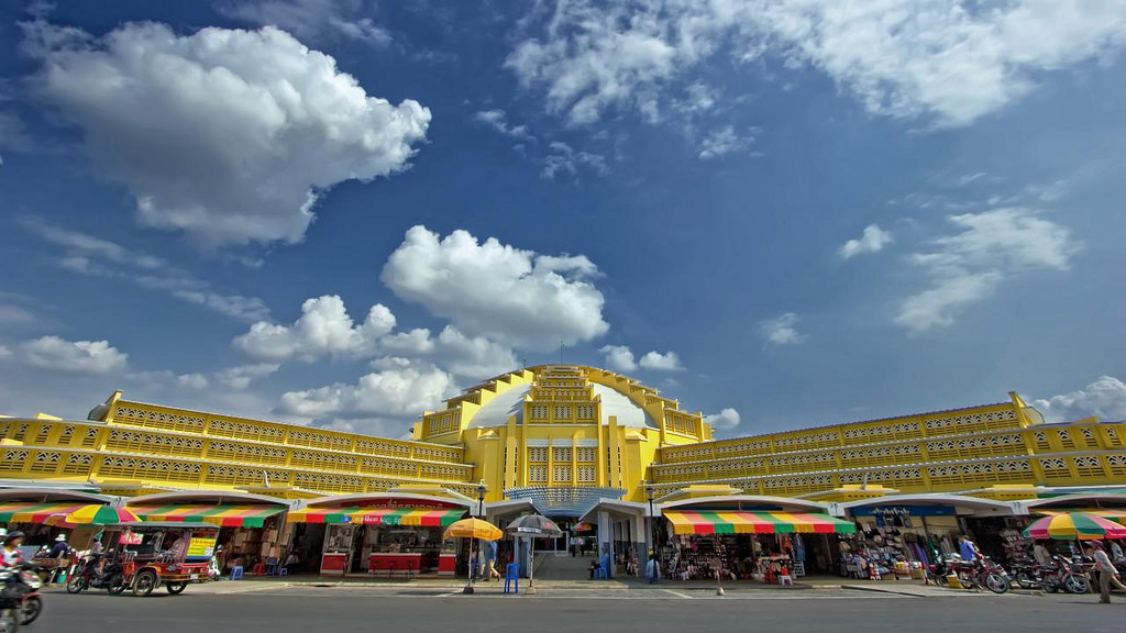 Central Market - Pusat Perbelanjaan Tradisional Di Tengah Kota Phnom Penh