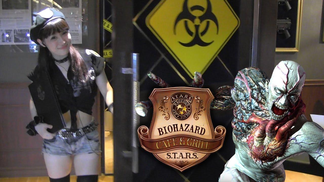 Biohazard Cafe And Grill, Restoran Unik Bertema Resident Evil Di Jepang
