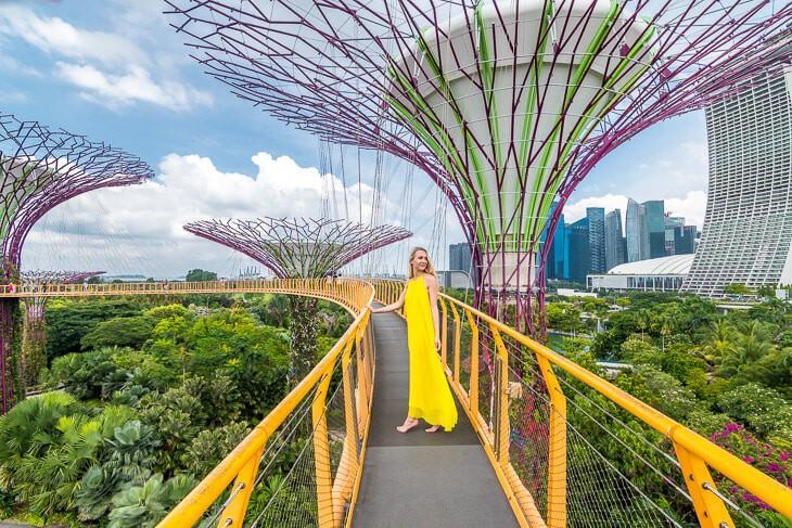Keindahan Garden By The Bay - Taman Yang Masuk Kedalam Buku Rekor Dunia